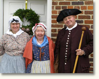 Volunteers in Costume